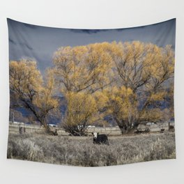 Guarding the Trees Wall Tapestry