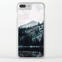 Wasatch Mountains In The Snow Clear iPhone Case