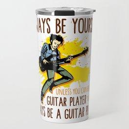 Guitar Electric Acoustic Guitarist Gift Travel Mug