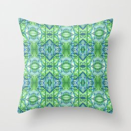 Zoom A Connective Tissue Close Up Throw Pillow