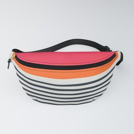 Sunset Ripples Fanny Pack