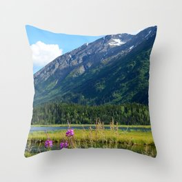 July at Tern Lake - II Throw Pillow