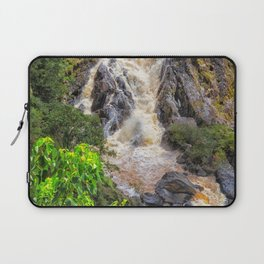 Waterfall in the rainforest Laptop Sleeve