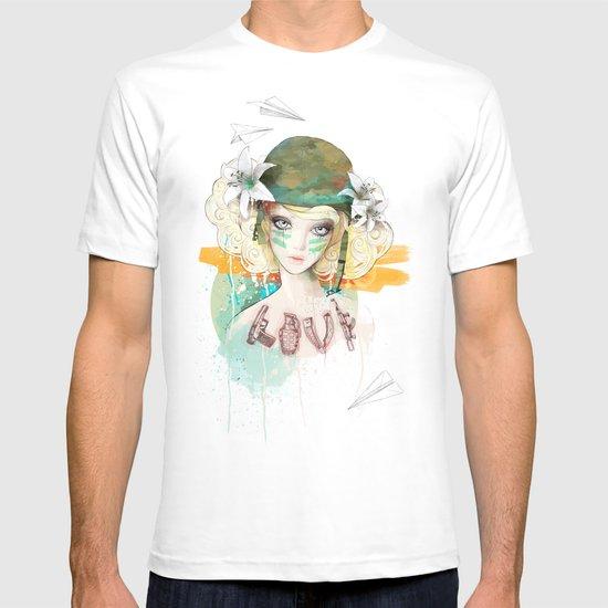 War girl T-shirt