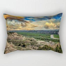 Theodore Roosevelt National Park,ND Rectangular Pillow