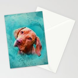 Vizsla  - Hungarian pointer Stationery Cards