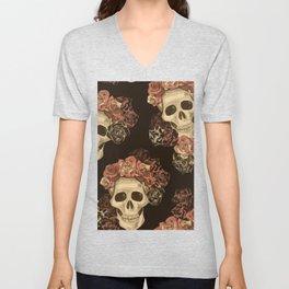 Lovely Skull Unisex V-Neck