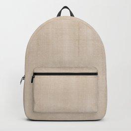 Pantone Hazelnut Dry Brush Strokes Texture Pattern Backpack