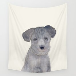 little schnauzer Wall Tapestry