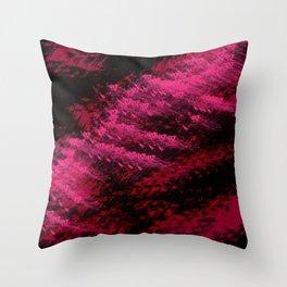 Red Ocean Throw Pillow