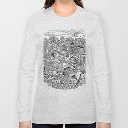 Southside Slopes, Pittsburgh, PA Long Sleeve T-shirt