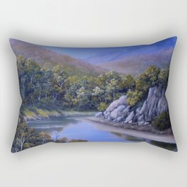 RIVER LOW TIDE Rectangular Pillow