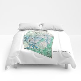 BIRTHSTONES - MARCH / AQUAMARINE Comforters