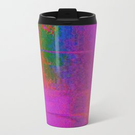 11-23-56 (Moving Circles Glitch) Travel Mug