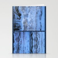 geology Stationery Cards featuring The Geology of Snow by World Raven