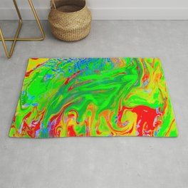 Space OF Flowing Colours Rug