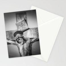 Jesus Statue Stationery Cards