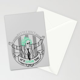 Beetle Juice [Betelgeuse, Michael Keaton, Tim Burton] Stationery Cards