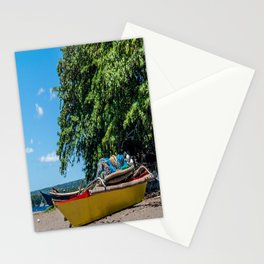 Traditional Filipino Kayak Stationery Cards