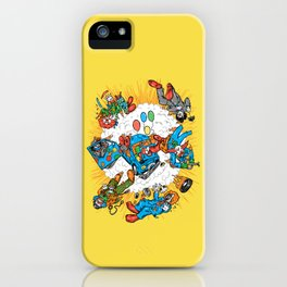 When Clown Cars Explode iPhone Case