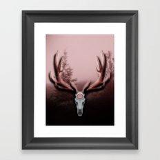 C-2 Horns Framed Art Print