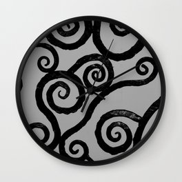 Spirals - pieces of Dublin Wall Clock