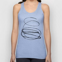 My mind is a mess. Unisex Tank Top