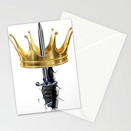Corona lucha por el Reinado Stationery Cards