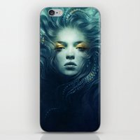 ink iPhone & iPod Skins featuring Ink by Anna Dittmann