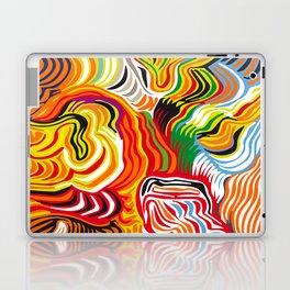 colored flow Laptop & iPad Skin