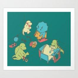 Kinder Art Print