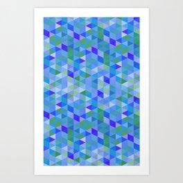 Cube Six Art Print