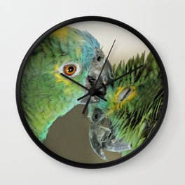 Forever in love Wall Clock