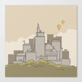City #3 Canvas Print