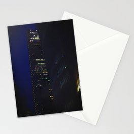 Night scape London Style Stationery Cards