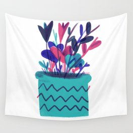 potted present Wall Tapestry