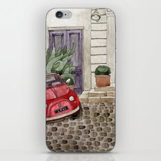 Red Beetle Car iPhone & iPod Skin