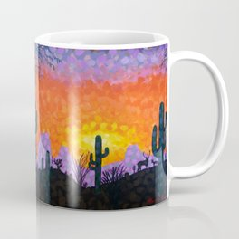 Sonoran Desert Sunset Coffee Mug