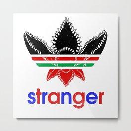 stranger@adidas Metal Print