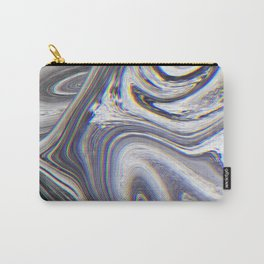Marble Glitch Pattern II Carry-All Pouch