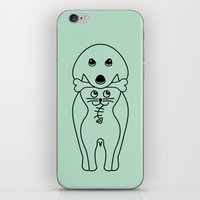 karma iPhone & iPod Skins featuring karma by creaziz