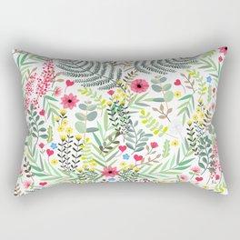 Nature Love heart Rectangular Pillow