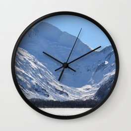 March in Portage Valley - 4 of 4 Wall Clock