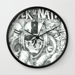 Raider Nation Wall Clock