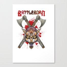 Battleborn Canvas Print