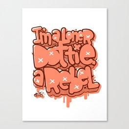 I am Loner Dottie a Rebel Canvas Print