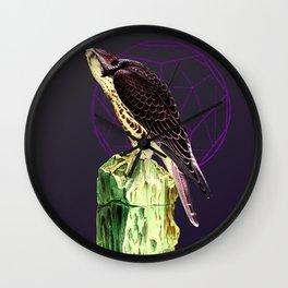 Serpentine Hawk Wall Clock