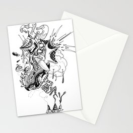 Ink Entanglement Stationery Cards