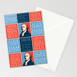 Alexander Hamilton Quotes Stationery Cards