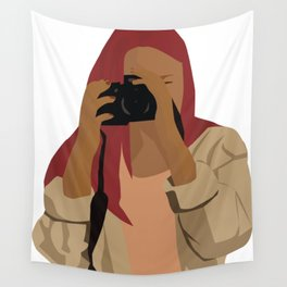 TAKE MY PICTURE Wall Tapestry